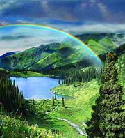 Алматинская область. Природа