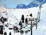 Chimbulak ski resort. Almaty pictures