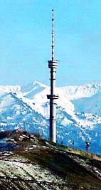 Kok-Tyube TV tower. Almaty pictures