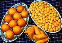 Казахская кухня. Баурсаки