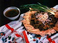 Казахская кухня. Бешбармак