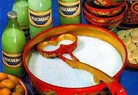 Казахская кухня. Кумыс