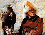 Almaty region. Golden Eagle Hunting