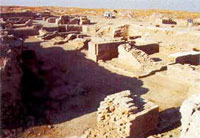 Archaeological excavations