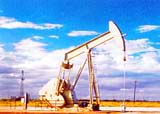 Oil extraction. Kazakhstan photos
