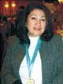 Роза Асанбаева. Президент КТА и КАГиР