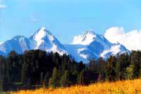Гора Белуха. Горы Казахстана