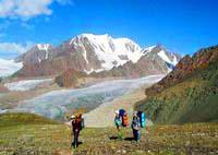 Пик Талгар. Горы Казахстана