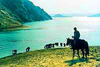 Almaty Region. Kazakhstan nature