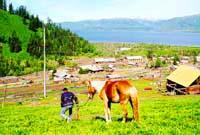 Маркакольский природный заповедник. Фотографии Казахстана