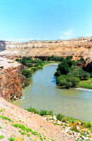 Charyn River Canyon. Kazakhstan nature