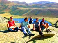 Сибинские озера. Природа Казахстана