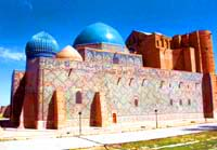 Turkestan city. Kazakhstan photos