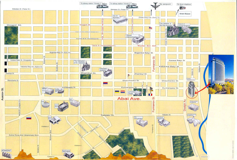Almaty History pictures of Almaty Kazakhstan Almaty map