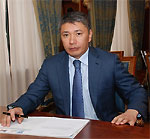 Министр туризма и спорта Республики Казахстан Ермегияев Талгат Амангельдиевич