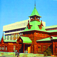 Музей народных музыкальных инструментов. Фотографии музеев Казахстана