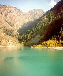 Issyk Lake. Kazakhstan photos